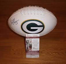 PACKERS Ted Thompson signed football ...