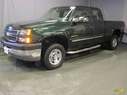2005 Dark Green Metallic Chevrolet Silverado 2500HD LS Extended ...