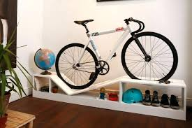 ... Decoration:Cycle Wall Hanger Indoor Bike Storage Solutions Clever Bike  Storage Bike Rack For House ...