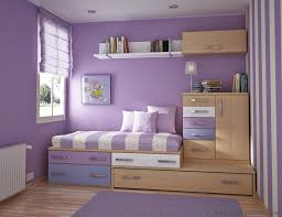 charming kid bedroom design. Charming Kids Purple Bedrooms With Amazing Wall Painted And Oak Wooden Bed Frames Storage Cabinets In Little Girls Decoration Kid Bedroom Design