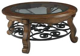 low round coffee tables round wood and glass coffee table round 2 piece glass top coffee