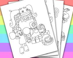 Small Picture 42 best My Singing Monsters Party images on Pinterest Monster