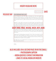 Simple Press Release Template How To Write Irresistible And Simple Salon Press Releases Phorest