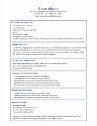 Resume Format Pdf Awesome Resume Format New Resume Format And