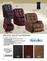 lift lay flat recliner with dual motor in coal