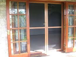 sliding fly screen door retractable fly screens french doors le