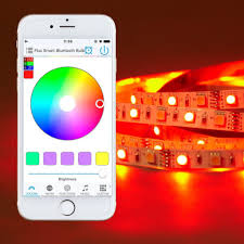 Colored Led Can Lights Bluetooth Smart Led Light Strip Kit Color Changing Tape