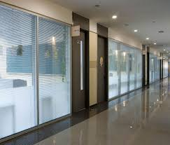 office dividing walls. Conference Room Divider Wall Corridor Full Glass Partition Double With Blind Inside Office Dividing Walls