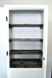 convert closet to pantry convert coat