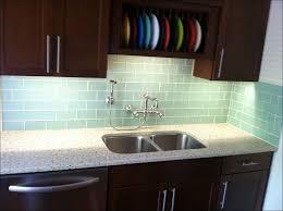 Clear Glass Backsplash Kitchen Painted Glass Backsplash Cost 4x4 Glass Squares Clear