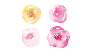 gorgeous easy watercolor flowers