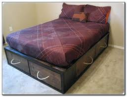 Full Bed Frame With Storage Valuable Inspiration Full Size Bed ...