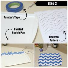How To Make A Magnetic Memo Board DIY Chevron Magnetic Memo Board Crafting With Dollar Tree shop 69