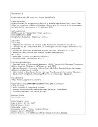 Writing A Resume Examples Best Profile On A Resume Example Resume Profile Examples Entry Level High