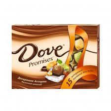 Купить Набор <b>Конфет Dove Promises</b> Десерт Ассорти 118г с ...