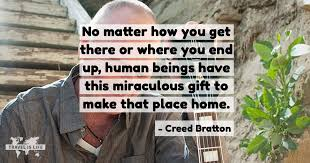 Creed Quotes Magnificent Creed Bratton Travel Is Life Quotes