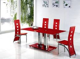 red dining chairs alba small red gl dining table with alison dining chair ebay red fabric