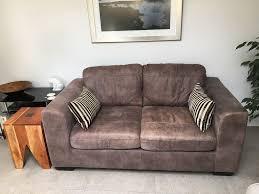 John Lewis Living Room John Lewis Felix Africa Ashanti Leather Sofa In Poole Dorset