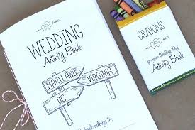 free printable wedding kids activity book wedding activities washington dc wedding and kids activity books