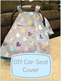 diy car seat cover with k window perfect for king at the baby if