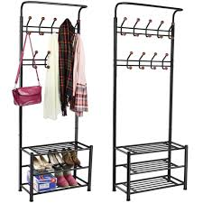 Free Standing Coat Rack With Shelf Amazon World Pride Metal Multipurpose Clothes Coat Stand 51