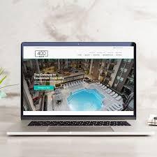 apartment website design. Responsive Image New Website Templates Apartment Design