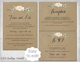 wedding invite template download