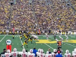 Seating Chart Michigan Football Stadium Michigan Stadium Section 2 Home Of Michigan Wolverines