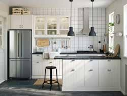 Small white kitchens with white appliances Ice White Whirlpool Kitchen With Textured White Cabinets Clubfreshme Kitchen Cabinets Appliances Design Ikea
