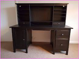 ikea hemnes desk with add on unit black brown ideal for home office or study space