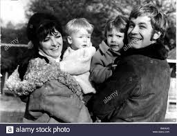 Actor Alan Rothwell with his wife and two boys Ben left and Toby ...