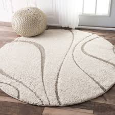 rug soft fluffy rugs fresh nuloom soft and plush curves ivory beige rug 5