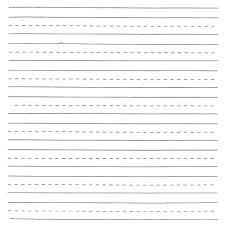 Kindergarten Blank Writing Worksheets Blank Handwriting Worksheets