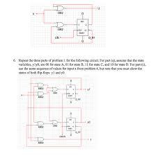 Solved 1 Using The Design Procedures Taught In Class De