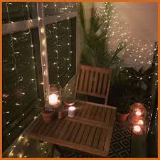 string lighting ideas. Amazing Small Balcony Decor Ideas For An Apartment Hanging String Lights Pict Of Style And Lighting