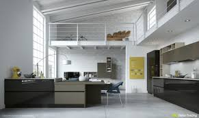 Loft Kitchen 49 White Loft Kitchen Interior Design Ideas