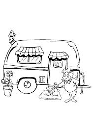 Camping Tekenen