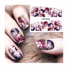 Aliexpress.com : Buy FWC Hot DIY Designs Nail Art Beauty Flower ...