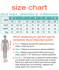Plus Size Size Chart Maurices Plus Tops Size Chart In 2019 Plus Size Blouses
