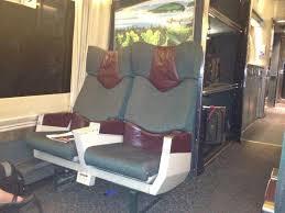 Business Class Train Seats Picture Of Via Rail Canada
