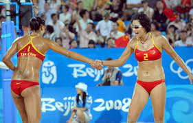 Chinese Women's Beach Volleyball