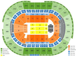 td garden seating map concert