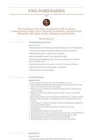 Housekeeping Supervisor Resume Template Inspiration Housekeeping Supervisor Resume Template Net Format 28 Ifest