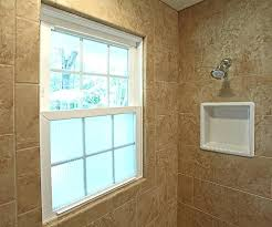 tub shower with window sealed joints when installing a window in tiled shower enclosure tub shower