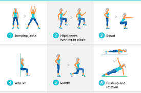 get fit over 50 in 15 minutes easy hiit workout you can do at home