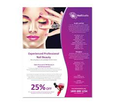 Hair Salon Flyer Templates Free Hair Salon Flyer Template 14 Best Nail Flyers Images On