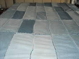 Blue Jeans Quilt Ideas   ThriftyFun & Recycled Jean Quilt Adamdwight.com