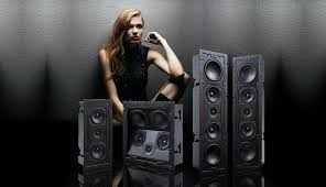 on wall and in ceiling speakers