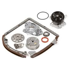 Timing Belt Kit w/ VVTi Gear Water Oil Pump 00-08 Toyota Chevrolet ...