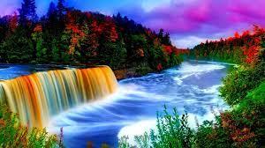 Rainbow waterfall, Waterfall wallpaper ...